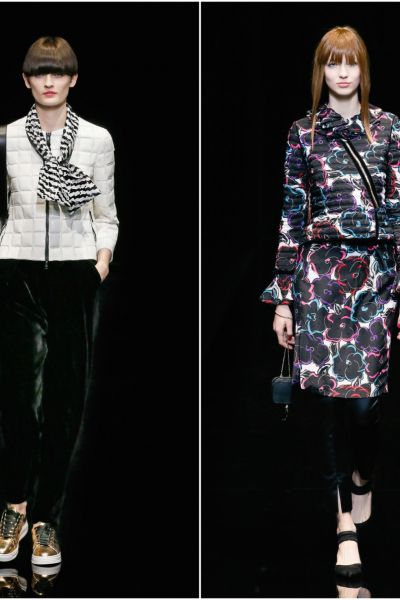 Emporio Armani Womenswear Autumn/Winter 2017-2018