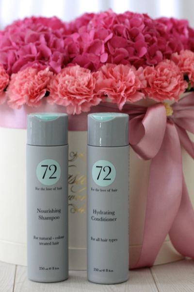 My hair care with 72 Hair